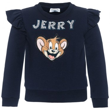 Bluza dla dziewczynki Jerry Monnalisa 003015 A