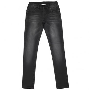 Czarne jeansy dla dziecka push-up Liu Jo 003025
