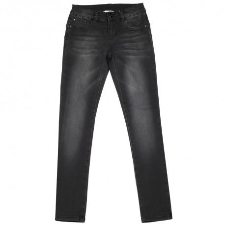 Czarne jeansy dla dziecka push-up Liu Jo 003025 A