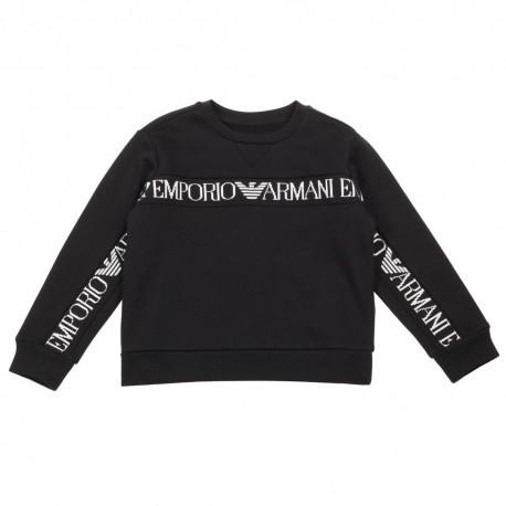 Czarna bluza chłopięca Emporio Armani 003029 A