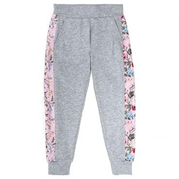 Sportowe spodnie dla dziewczynki Monnalisa 003035
