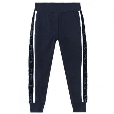 Sportowe spodnie dziewczęce Monnalisa 003050 A