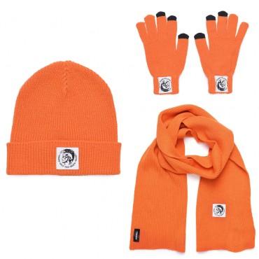 Komplet czapka szalik rękawiczki Diesel 003058 A