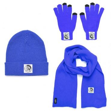 Komplet czapka szalik rękawiczki Diesel 003059