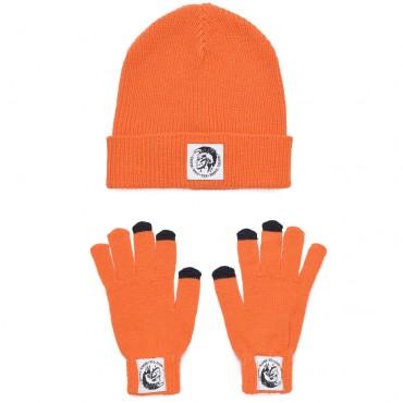 Komplet czapka rękawiczki Diesel 003060 A