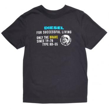 Koszulka dla chłopca z Irokezem Diesel 003068 A