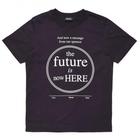 Koszulka dla chłopca z nadrukiem Diesel 003070 A