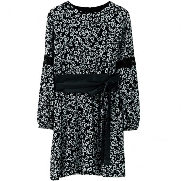 Sukienka dziewczęca z paskiem Liu Jo 003084 A