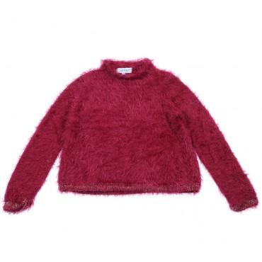 Sweter dziewczęcy z długim włosem Twin Set 003095