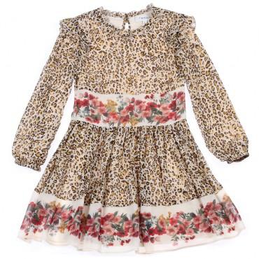 Koktajlowa sukienka dziewczęca Twin Set 003098 A