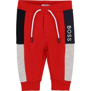 Niemowlęce spodnie sportowe Hugo Boss 003106 A