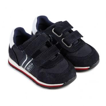 Sportowe buty dla małego chłopca Hugo Boss  003112 A