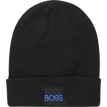 Chłopięca czapka zimowa Hugo Boss 003122 A