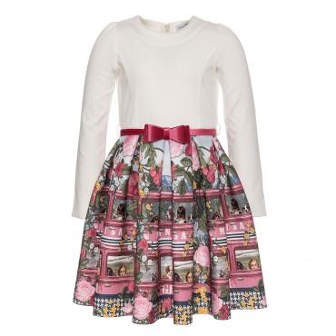 Odświętna sukienka dziewczęca Monnalisa 003173