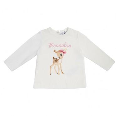 Koszulka dla niemowlaka Bambi Monnalisa 003178 A