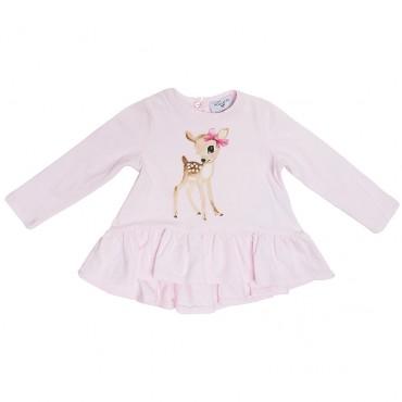 Bluzeczka niemowlęca Bambi Monnalisa 003179 A