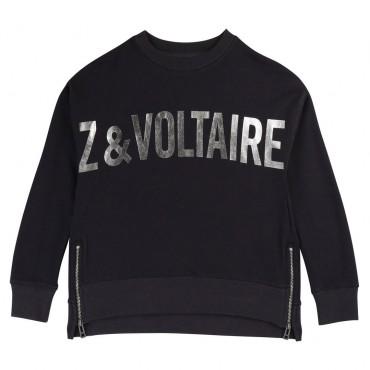 Dziewczęca bluza z logo Zadig&Voltaire 003207 A