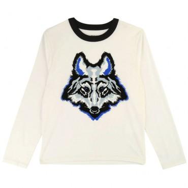 Chłopięca koszulka z wilkiem Zadig&Voltaire 003215