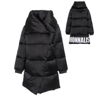 Zimowy płaszcz dla dziewczynki Monnalisa 003223 A