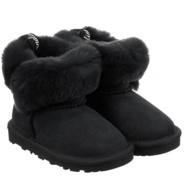 Zimowe buty dla dziecka Monnalisa 003225 A - ekskluzywne obuwie dziewczęce