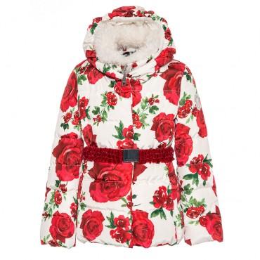 Zimowa kurtka dla dziewczynki Monnalisa 003232 A