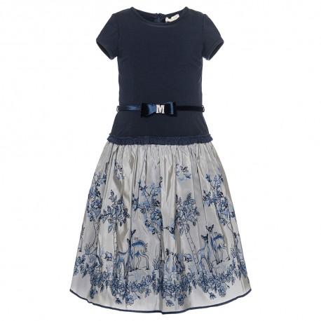 Elegancka sukienka dziewczęca Monnalisa 003235 A