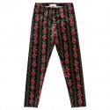 Welurowe legginsy dla dziewczynki Monnalisa 003239