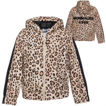 Bluza dla dziewczynki w panterkę Monnalisa 003247 A