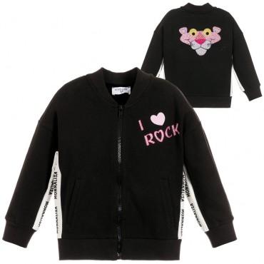 Bluza dziewczęca Różowa Pantera Monnalisa 003248 A