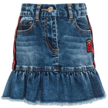 Jeansowa spódniczka dla dziecka Monnalisa 003249 A