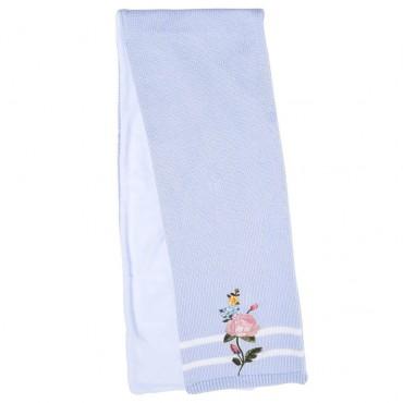 Niebieski szalik dla dziecka Monnalisa 003259