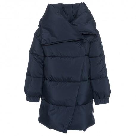 Zimowa długa kurtka dla dziecka Monnalisa 003261 A