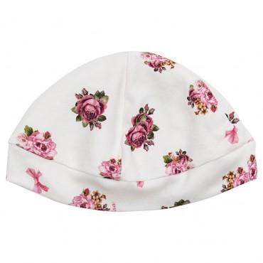Miękka czapeczka niemowlęca Monnalisa 003268 A