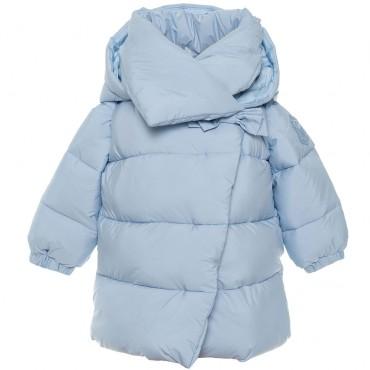 Ocieplona długa kurtka niemowlęca Monnalisa 003272 A