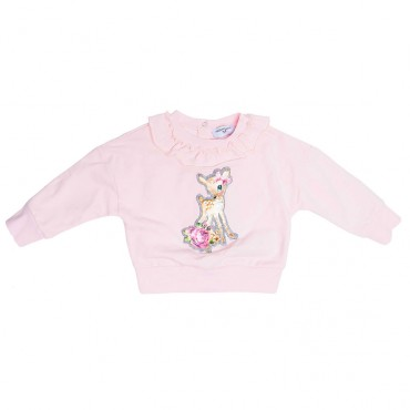 Bluza niemowlęca z falbanką Monnalisa 003274