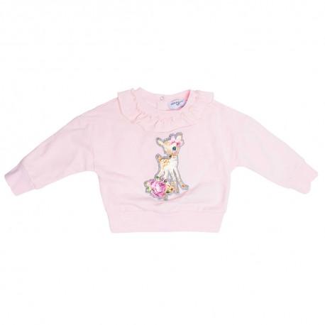 Bluza niemowlęca z falbanką Monnalisa 003274 A
