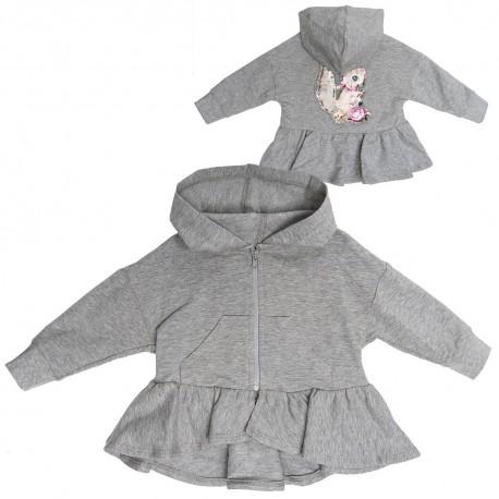 Bluza niemowlęca z kapturem Monnalisa 003275 A