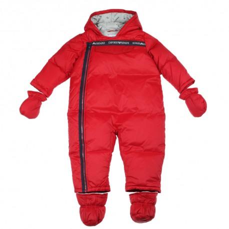 Zimowy kombinezon niemowlęcy Emporio Armani 003280 A