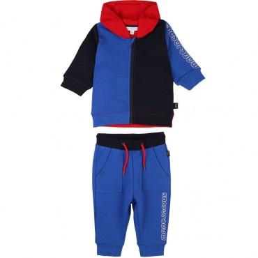 Wielobarwny dres niemowlęcy LMJ 003284 A