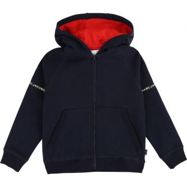 Sportowa bluza chłopięca z kapturem LMJ 003286 A
