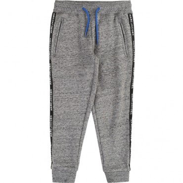 Szare sportowe spodnie dla chłopca LMJ 003287 C
