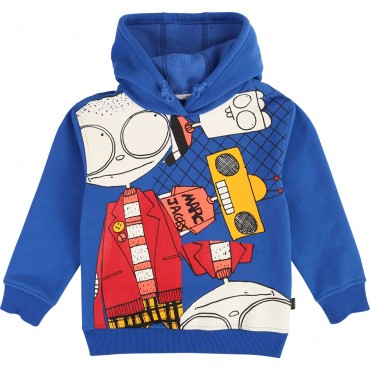 Jaskrawoniebieska bluza chłopięca LMJ 003289
