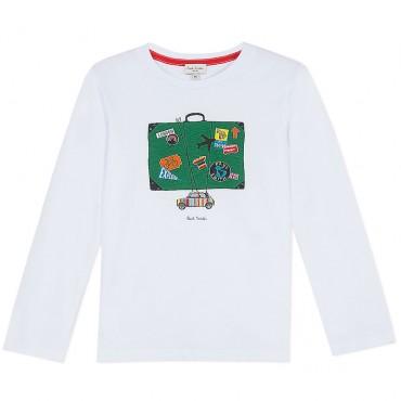 Koszulka chłopięca Travel Paul Smith Junior 002992 A