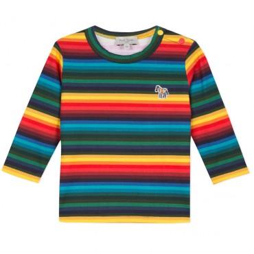 Kolorowy t-shirt niemowlęcy PS 003293 A