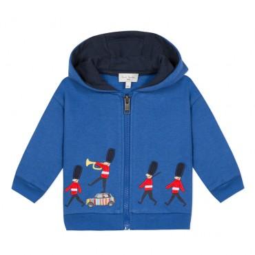 Niebieska bluza dla niemowlaka Paul Smith 003296 A
