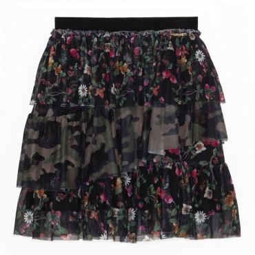 Dziewczęca spódnica z falbanami Twin Set  003306 A