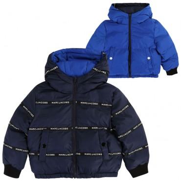 Dwustronna kurtka dla dziecka na zimę LMJ 003319 A