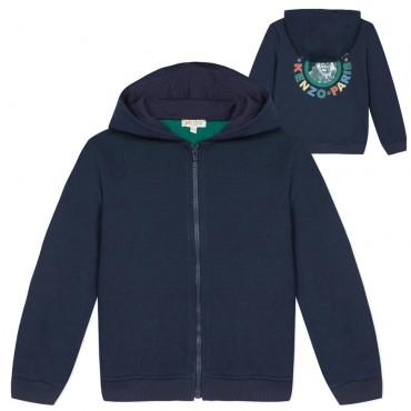 Bluza dla dziecka z lwem na plecach Kenzo 003324