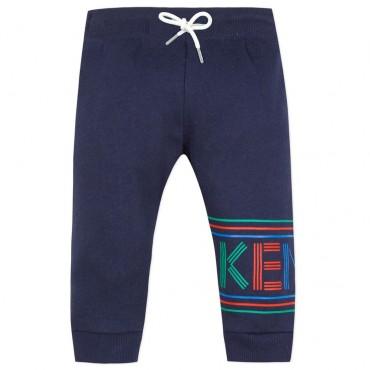 Spodnie dla dziecka z nadrukiem nazwy Kenzo 003326