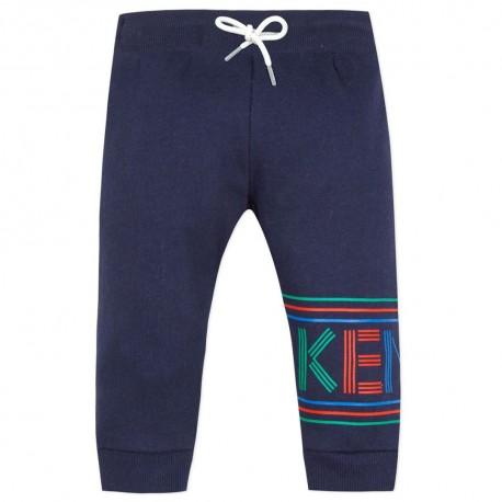 Spodnie dla dziecka z nadrukiem nazwy Kenzo 003326 A